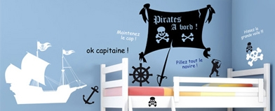 stickers, stickers pirates, stickers textes
